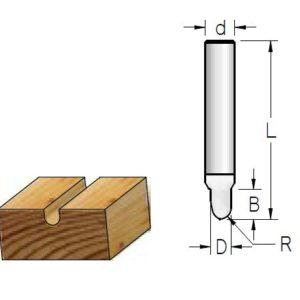 гравировальные радиус однозубые1