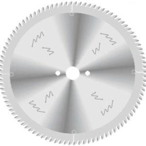Дисковые пилы для форматного раскроя ламинированного ДСП и других плитных материалов.